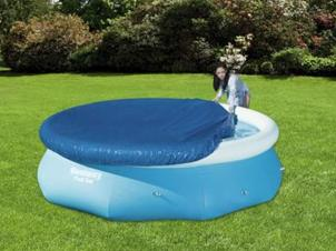 Swimming pool cover Ø 2,44 m
