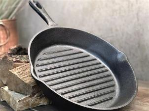 Cast Iron Ribbed Pan Ø 20 cm GRILL