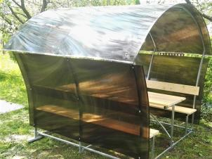 Polycarbonate gazebo LONDON LUX