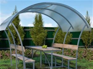 Polycarbonate gazebo LONDON