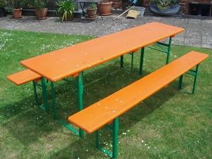 1 table + 2 benches CLASSIC