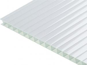 4mm 1x2 m Polycarbonate SUNNEX White