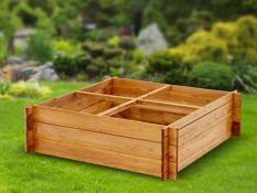 Daržo augalų dėžė 4-dalių