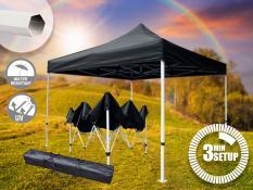 3x3 m palapinė STEEL330 PVC