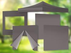2x2m stogo + 4 sienos