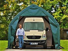 Garažai CarPort 4,0x6,1 m