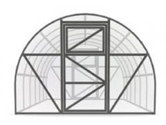 3x6 m CLASSICO karkasas